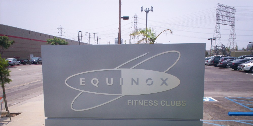 Equinox Fitness Clubs Monument Signs