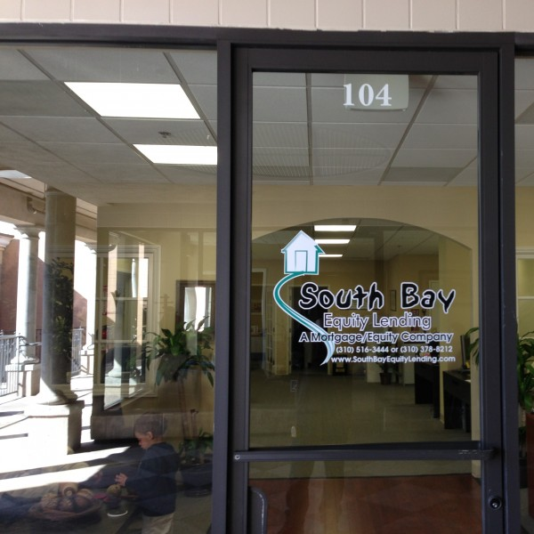 South Bay Equity Lending Window Decal