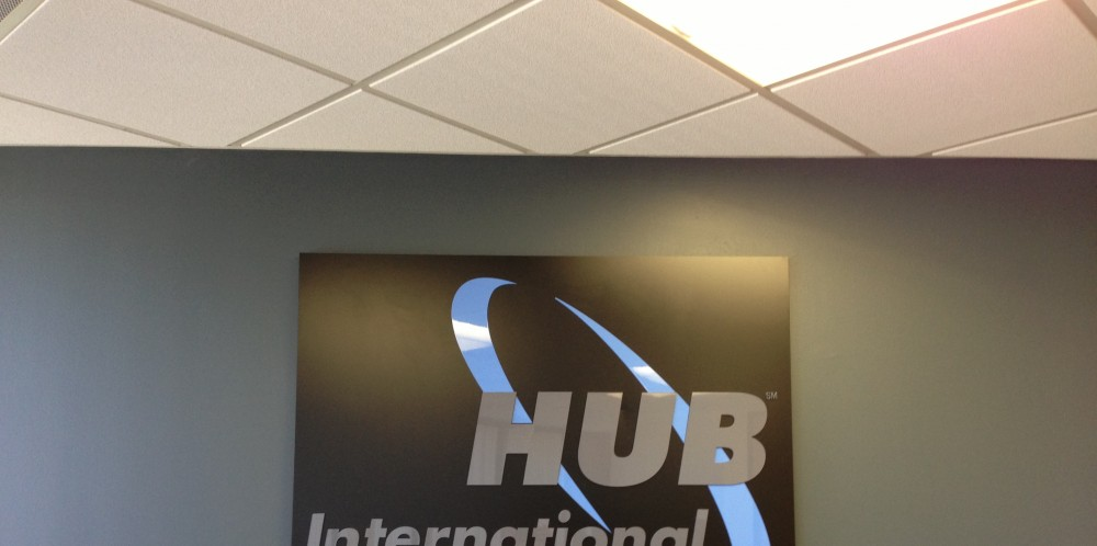 HUB International Interior Signs